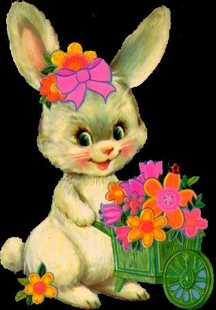 Tubes paques lapins - Image lapin de paques ...